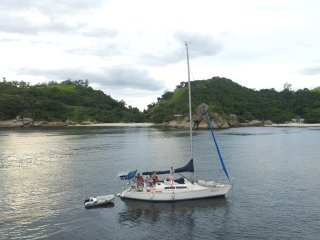 Confortavel Veleiro Oceanico para passeio pelo RJ