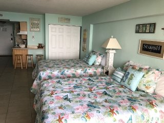 Amazing Renovated Ocean Front Studio!! After Feb 22 will have 2 Queen size beds!, Daytona Beach