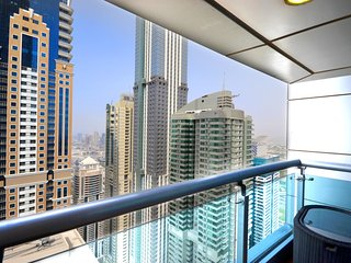 PRINCESS TWR 6702|45449| 1  BR | DUBAI MARINA | FULL SEA VIEW