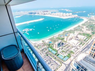 Bird's Eye Views The Palm Dubai Marina And Arabian Sea