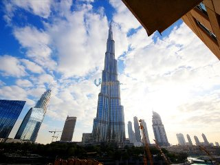 Burj Khalifa View 1BR Apartment in Standpoint Tower