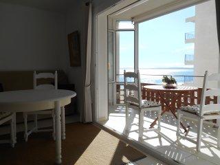 Studio en bord de plage - Vue latérale mer. Accès direct plage- Parking.