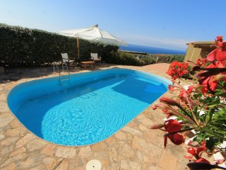 Villa Diamante with private pool and sea view
