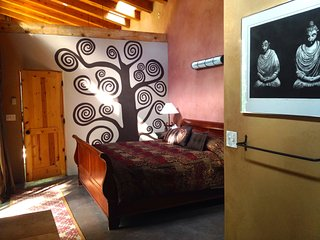 Master bedroom with the tree of life