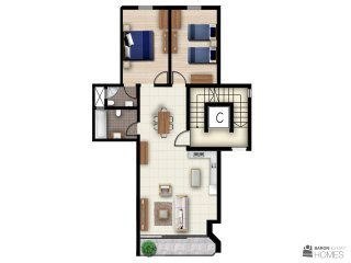 The Hillock Residences Apt. No. C4