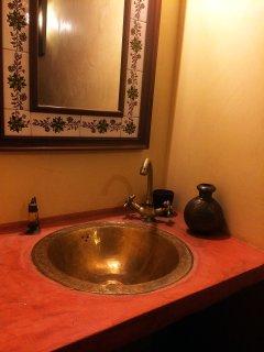 Detalle del baño completo