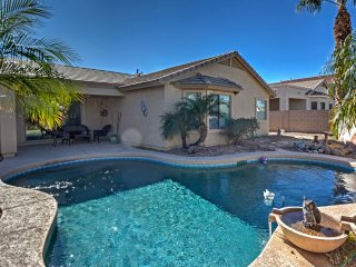 Luxe Home w/Pool ~3 Miles to San Tan Mountain Park
