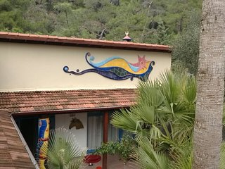 Unique Art Villa 'Dortnal' for rent in pure nature only 20 min from Marmaris