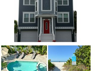 Spectacular Private Two Bedroom Apartment  with Private Pool.75 Steps to Beach, Isla Anna Maria