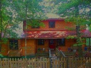 VIEW, PRIVACY, ROMANCE ATOP LOOKOUT MOUNTAIN! 3 BEDROOM/2 BATH. PET FRIENDLY.
