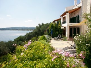 Corfu! Luxury complete 1 bedroom apartment with stunning sea view.