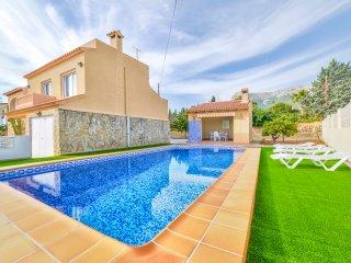 Villa Benicolada - Private pool, wifi and BBQ.