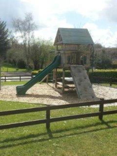 Park on site