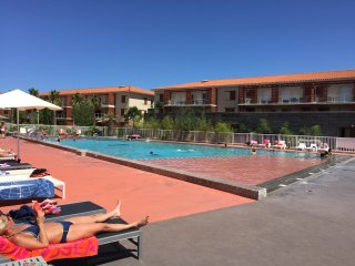 Appart 6 pers dans nouvelle résidence privée avec piscine