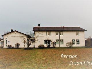 Idyllische Pension in den westlichen Wäldern von Augsburg, Zusmarshausen