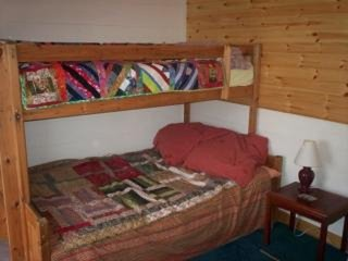 double bunk with one above