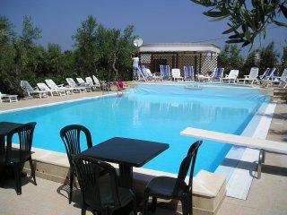 Appartamento Trilocale  vicino al mare, in residence con piscina, Defensola