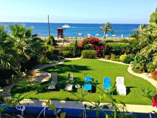 Front Line Villa Latchi Beach - Amazing Sea Views - Private Pool- Opposite Beach