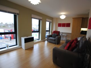 Fantastic holiday apartment in Troon town centre close to seafront