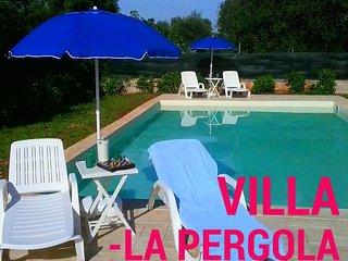 Villa La Pergola with Pool