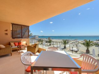 -Real SEA VIEW-PENTHOUSE next to Ushuaia -, Playa d'en Bossa
