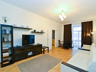 Luxury apart with great view on Neva river