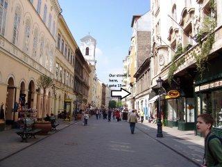 Vaci street Gold Holiday