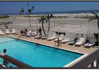 Spectacular View True Beach Front Only Thing Between is Pool, Wildwood Crest