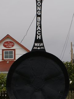 Largest frying pan in the world, a mere 1 block from the house