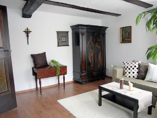 Vacation Apartment in Bad Windsheim - 710 sqft, SAT-TV, sauna usage, historic