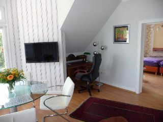 Vacation Apartment in Bad Nauheim - 700 sqft, beautiful historic building