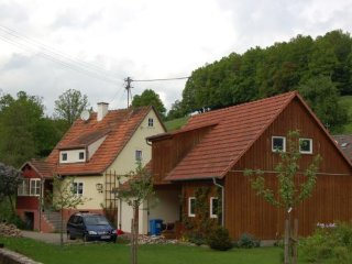 Vacation Home in Zeitlofs - 1076 sqft, idyllic, renovated, modern (# 3293)