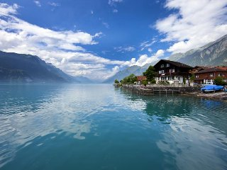 Vacation Apartment in Brienz - 969 sqft, amazing view, beautiful, comfortable
