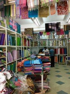 Local fabric shop.