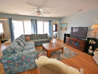 Family Room with oceanview
