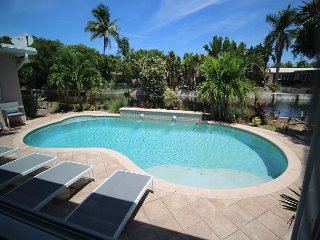 Updated Waterfront Oasis with Private Pool and Hot Tub, Oakland Park
