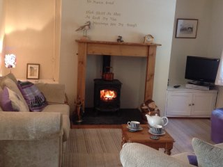 After a long walk sit by the log fire and put your feet up with a good book.