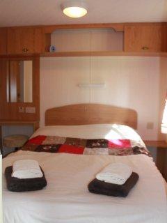 Double bedroom with plenty of storage