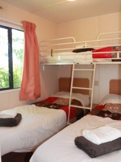 Triple bedroom ideal for the kids.