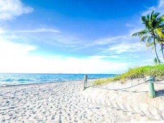 Coco Palm Escape: Walk to Ocean, Pompano Beach