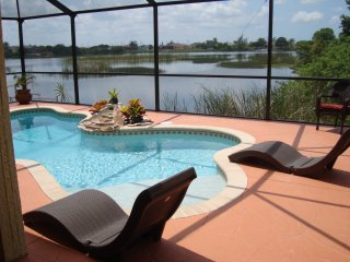 water view, idyllic,central,south-pool villa with