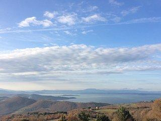 Casa 'Lydia' vista lago Trasimeno