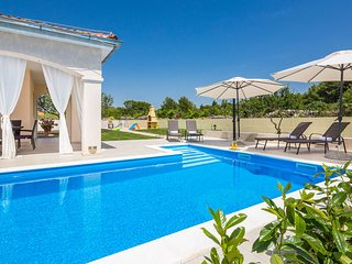 Pool holiday villa for rent in Bilice, Sibenik area, Croatia