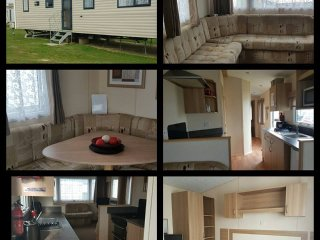 3 Bed 8 berth double Glazed, Central Heated Caravan, Selsey