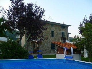 Casa immersa tra olivi e castagni mezza collina 8 km da montecatini terme.