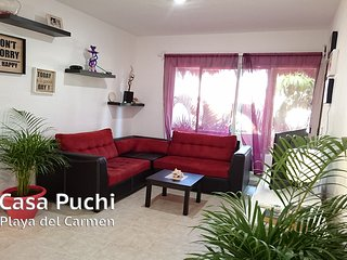 Casa Puchi GuestHouse 700mt walking to the beach, Playa del Carmen