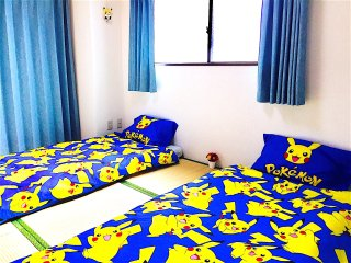 *POKEMON* 2BR. TRAIN-1min! AIRPORT DIRECT. Food Area! NEAR UENO & ASAKUSA., Arakawa