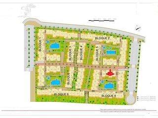 ubicacion del apartamiento en la urbanizacion Mar de Pulpi