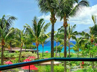 Maui Resort Rentals: Honua Kai Konea 245 - Spacious Interior Courtyard 2BR
