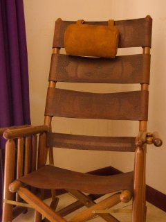 Hand crafted traditional rocking chair